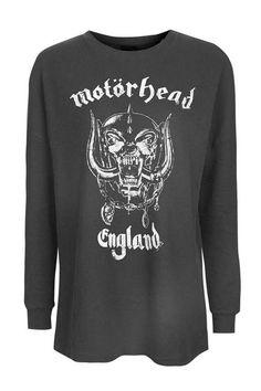 Motorhead Waffle Sweatshirt by And Finally