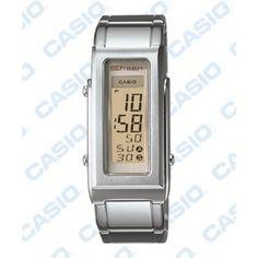 Sheen SHN-1001D-9A Fashion Women Rectangle Dial Digital Watch -commodityocean.com