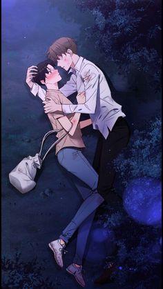 Manga Art, Manga Anime, Anime Art, 19 Days Manga Español, Bl Webtoon, Bl Comics, Cute Couple Poses, A Guy Like You, Image Fun