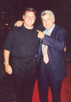 Jay Leno and Bill Ganz - #billganz http://www.linkedin.com/in/billganz