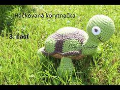 Ako uháčkovať korytnačku 3. časť l háčkované hračky l - YouTube