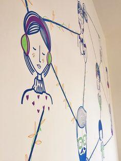 Conheça o home office da pesquisadora Gabriela Teló em Porto Alegre, ilustrado por Élin Godois.