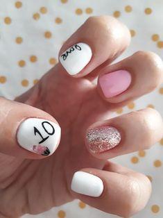 Anniversary nail art