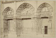 Paul Robert | Westportaal van de kathedraal van Chartres, Paul Robert, 1890 - 1900 |
