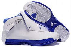 White/Blue 18's.