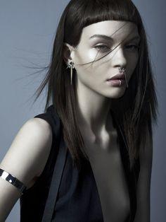 Kate Bogucharskaiaby Jonas Bresnan for Meadowlark Jewellery 'Dynasty' Collection Fall 2014.