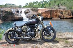 Rudra - Custom Royal Enfield of Mr. Arhunki Laloo