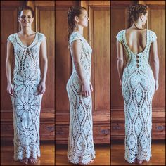 Crochet Wedding Dresses