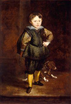 Sir Anthony van Dyck: Filippo Cattaneo. National Gallery of Art, Washington D.C.