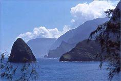 Northshore Kalaupapa, the view from Kalawao
