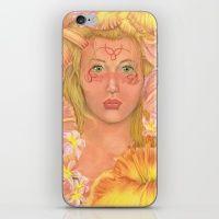Tatiana iPhone & iPod Skin
