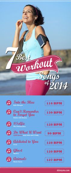 7 Best Workout Songs of 2014--get your groove on! #fitness #music #playlist #songs