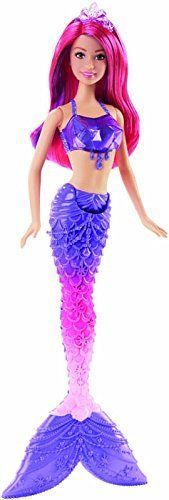 Barbie Mermaid Doll Gem Fashion Princess Swim Girls Play Fairytale NEW Barbie 80s, Barbie Style, Barbie Dolls, Barbie Party, Purple Hair Streaks, Purple Ombre, Monster High, Ever After High, Barbie Mermaid Doll