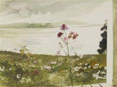 Andrew Wyeth - COSMOS, 2005, watercolor and pencil...