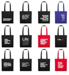 20% OFF #TOTE #BAGS THRU 5/26. Code: TOTALLY20. SHOP --> http://wordsbrand.com/browse/tote-bags/ #design #typography #wordsbrand