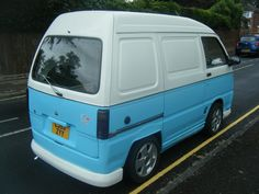 SUBARU SAMBAR 2003 LOOK ALIKE DAIHATSU HIJET MINI DUB VW SPLITTY VAN CAMPER | eBay
