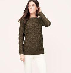 LOFT Ballet Boatneck Sweater
