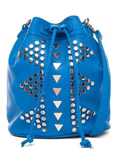 Electric Blue Studded Tote ♥