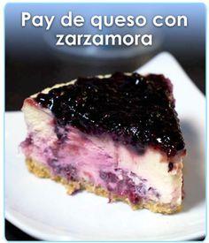 PAY DE QUESO CON ZARZAMORA