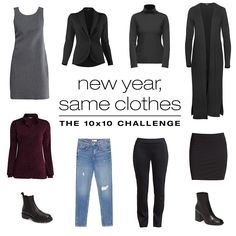 Kicking off 2020 with our first challenge + giveaway! Instagram Direct Message, Learning To Love Yourself, Minimalist Wardrobe, 10 Days, Polyvore Outfits, Capsule Wardrobe, Kicks, Challenges, Style Inspiration