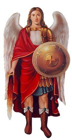 Archangel Michael by on DeviantArt Types Of Angels, Bible Timeline, Angel Artwork, Chi Rho, Archangel Raphael, Roman Mythology, Greek Mythology, Principles Of Art, Albrecht Durer