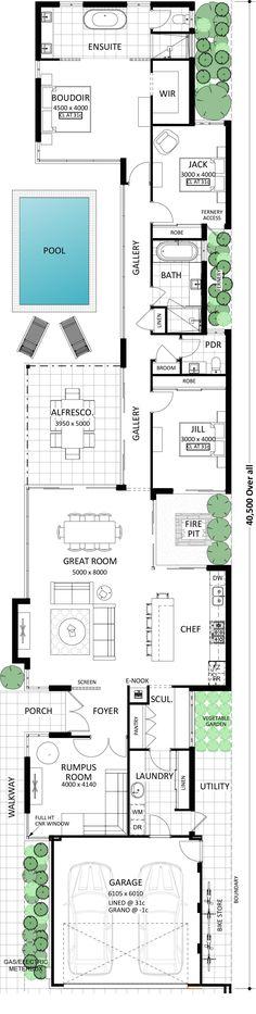 Idea for home floor plan Best House Plans, Dream House Plans, Modern House Plans, House Floor Plans, Loft Floor Plans, Unique Floor Plans, Home Design Plans, Plan Design, Layout Design