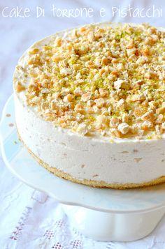 Cake torrone e pistacchi