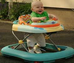 Baby Walkers: A Dangerous Choice.  Read more about why a baby walker might not be the best choice for your baby.