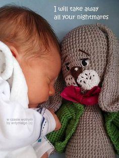 w czasie wolnym: Crochet Rabbit - free pattern