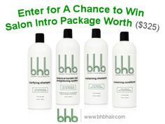 BHB SWEEPSTAKES.Enter & Win 32.oz Salon Intro Package Worth $325!!Hurry Up! http://www.bhbhair.com/sweepstake/