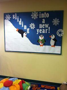 January Bulletin Board | Sliding Into a New Year!