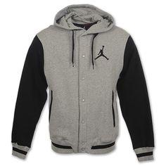 Jordan Varsity Jacket| Grey/Black