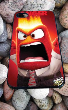 anger inside out disney pixar for iPhone 4/4s/5/5S/5C/6, Samsung S3/S4/S5 Unique Case *95*
