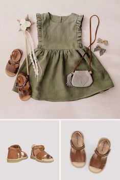 When you buy new children's sandals from Petit Nord, you make an active choice for a greener and more sustainable future Baby Outfits, Kids Outfits Girls, Toddler Outfits, Toddler Girls, Little Girl Fashion, Toddler Fashion, Kids Fashion, Cute Baby Girl, Baby Love