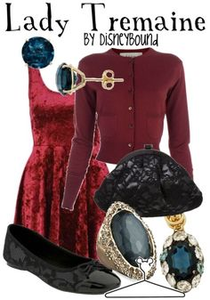 Lady Tremaine from Cinderella... love all of this, need it all.