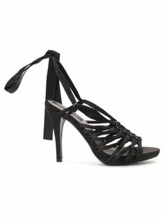 ea1676c4630 Buy Carlton London Black Trendy Strappy High Heels online