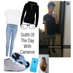 Outfit Of The Day With Cameron