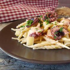 Trofie polpo e patate un primo piatto gustoso a base di pesce