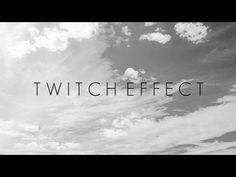 How to Add the cool Twitch Effect in Sony Vegas. YouTube Video. https://www.studio1productions.com