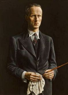 Carel Willink - Self Portrait, 1936 (1900-1983)