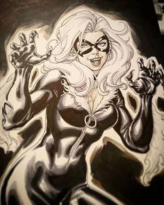 Ethereal Learn To Draw Comics Ideas. Fantastic Learn To Draw Comics Ideas. Marvel Dc Comics, Marvel Heroes, Spiderman Marvel, Marvel Drawings, Cartoon Drawings, Character Drawing, Comic Character, Comic Room, Black Cat Marvel
