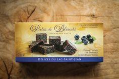 Pâte de bleuets de Délices du Lac-Saint-Jean