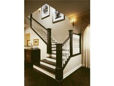 Change the stairway  http://cribchatter.com/wp-content/uploads/2008/08/1446-s-emerald-staircase.jpg