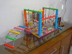 Resultado de imagem para brinquedos para calopsita