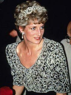 Your Weekly Tiara Treat: Why You'll Probably Never See Princess Diana's Wedding Tiara on Princess Kate| The British Royals, The Royals, Princess Diana