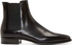 Saint Laurent Chelsea boots - Not a fan of the big fashion houses, but Hedi Slimane at the helm of Saint Laurent has captured the essence of timelessness and injected rock 'n' roll chic in everything. Especially these boots.