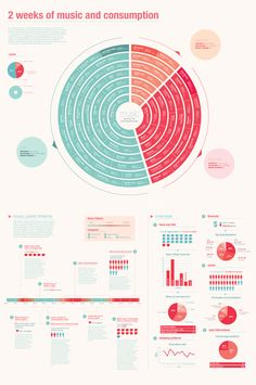 Music  Lifestyle Infographic