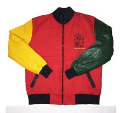 "By Kiy Online - BANNED Originals ""Motherland"" Jacket Dom, Motorcycle Jacket, Athletic, The Originals, Jackets, Fashion, Down Jackets, Moda, Athlete"