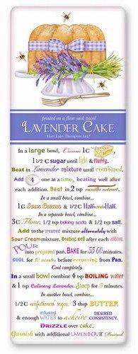 Fun lavender cake recipe! :)