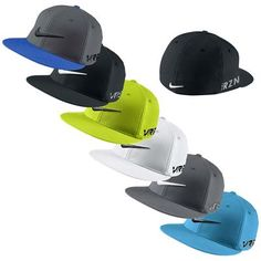 f626bf8a5b0 2014 Nike Flat Bill Tour Golf Cap New Logo VRS RZN Nike Flats
